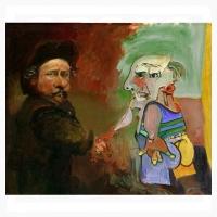 Rembrandt-Picasso