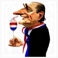 Chirac-storbild
