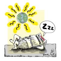 Plantu (FR) - 2005-Global warming