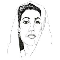 Fanney Antonsdottir-Benazir Bhutto