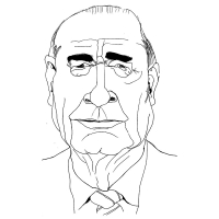 Fanney Antonsdottir-Jacques Chirac
