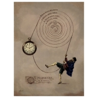 Florian Doru Crihana (RO) - Theory Copernic.Nostradamus on the first pocket watch