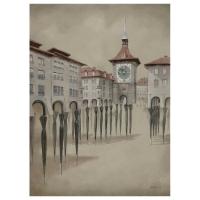 Florian Doru Crihana (RO) - Closed umbrelas of Bern