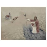 Florian Doru Crihana (RO) - Saint Christopher saving the tower