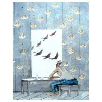 Oleg Dergachov-By the window