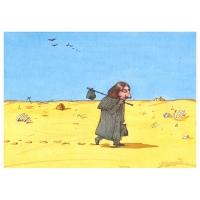 Oleg Dergachov-Gogol walking through the Ukraine