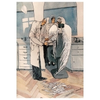 Oleg Dergachov-Barber and angel