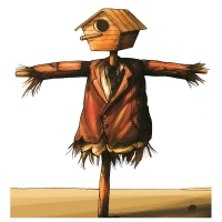 Darko Drljevic - Bird house - scarecrow
