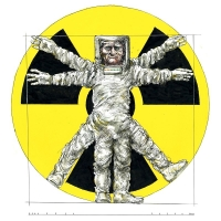 Rainer Ehrt-Leonardo man radioactive