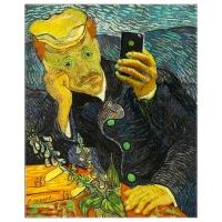 Luc Descheemaeker/O-SEKOER - Selfie Van Gogh