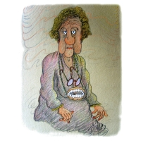 Jordan Pop-Iliev: Old woman