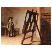 Willem Rasing - Rembrandt atelier