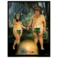 Willem Rasing - Adam and Eve junglebaby