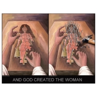 Willem Rasing - And God created woman - similarity or not