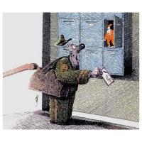 Stabor-Surprised postman