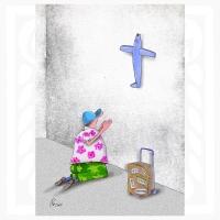 Bernard Bouton-Tourist pray