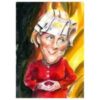 """Mariagrazia Quaranta - """"GIO"""" - Angela Merkel"""