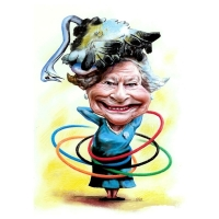 "Mariagrazia Quaranta - ""GIO"" - Queen Elisabeth II and the Olympic Games 2014"