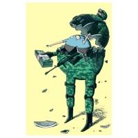 Michel Moro Gomez-Corruption and war
