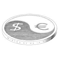 Haroutiun Samuelian - Yin-yang coin
