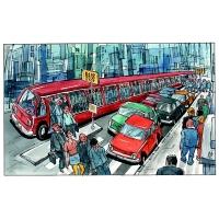 Ivan Simek-Bus stop
