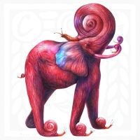 Omar Turcios - Red Elephant