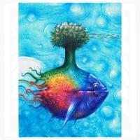 Omar Turcios - Fish-tree