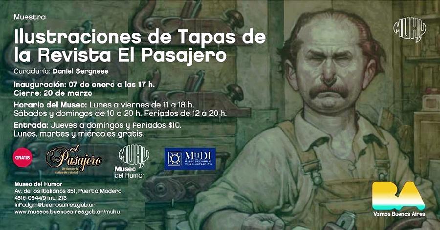 Museo del Humor-Revista Cultural El Pasajero