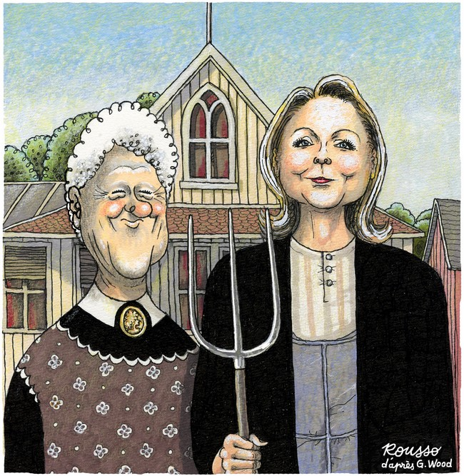Robert Rousso-New American Gothic