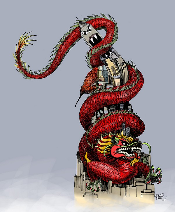 Riber Hansson - Hong Kong dragon
