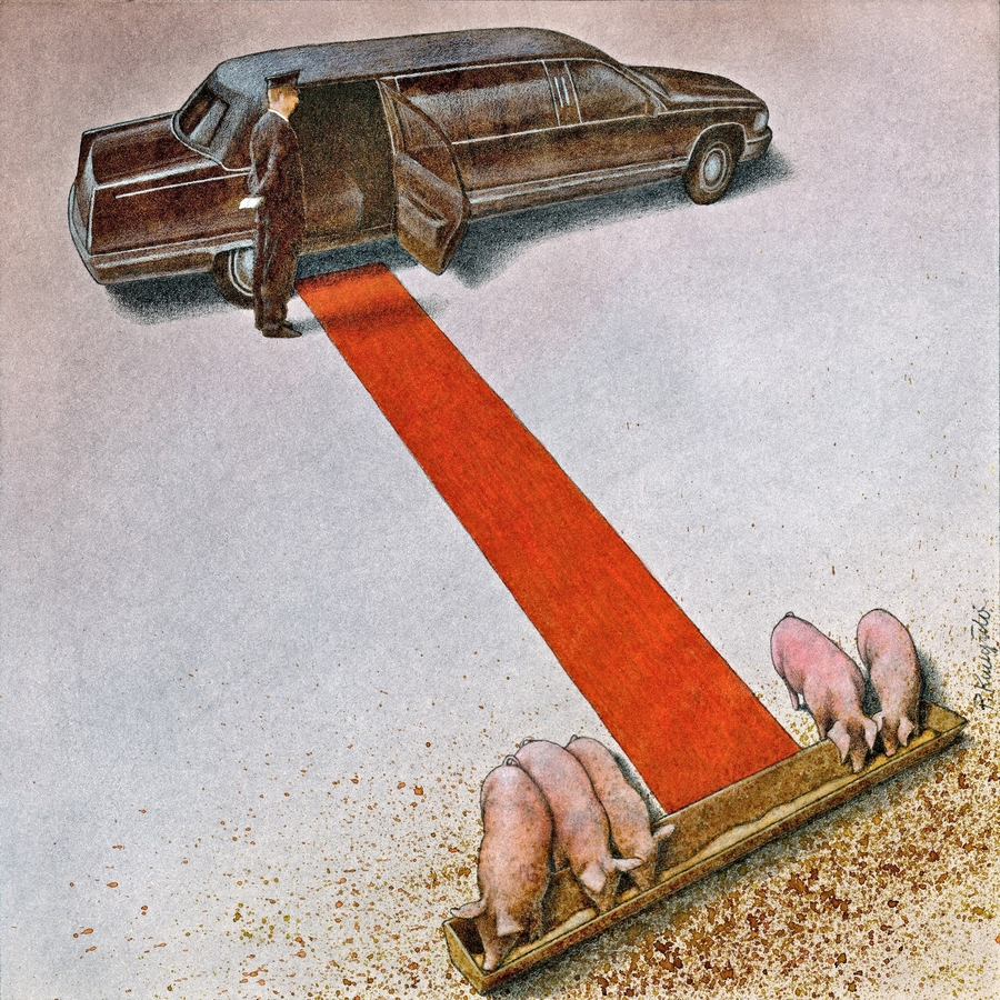 Honorary prize of the Cartoon Gallery Pawel KUCZYNSKI, Poland