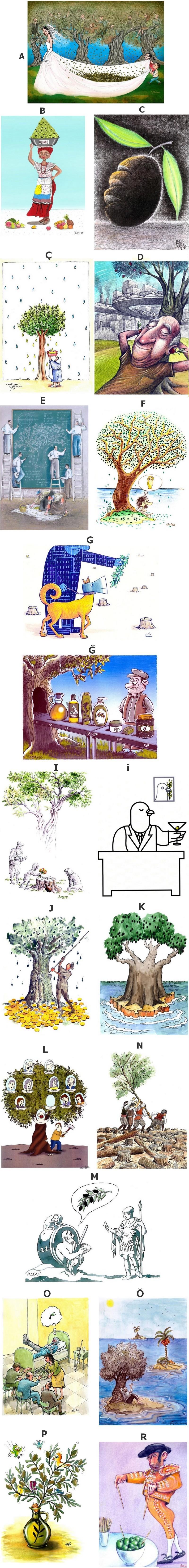 Olive Cartoons Cyprus