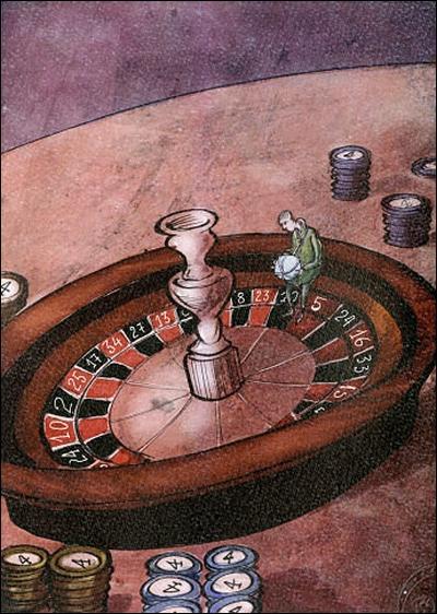 Xavier Bonilla EC-3rd humor-Compulsive play