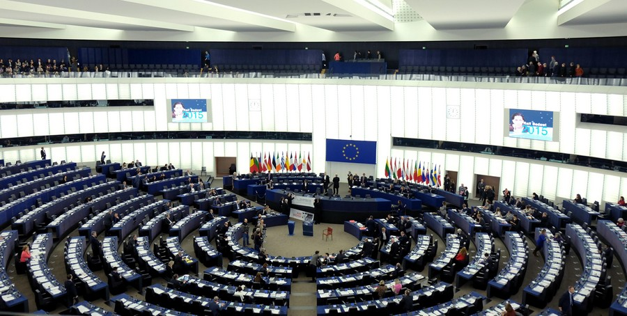 Award ceremony in the EU Parliament