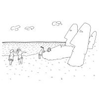 Levon Abrahamian - Moai, Veľkonočný ostrov