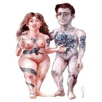 Rainer Ehrt - Adam a Eva-tetovanie
