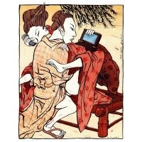 Rainer Ehrt - Pár z Hokusai