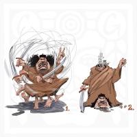 Kaddáfího šabľový tanec