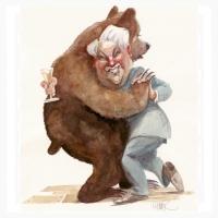 Jelcin-medvedí tanečník