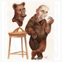 Putin-medvedí odev
