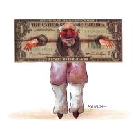 Harca - Dolár