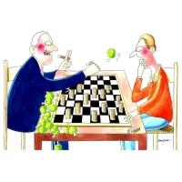 Harca - Šachová partia