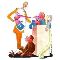 Harca - Quijote, Sancho a klamúci politik