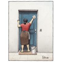 Pol Leurs - Modré dvere