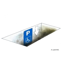 Luc Descheemaeker/O-SEKOER - Parkovací handicap
