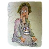Jordan Pop-Iliev: Stará žena