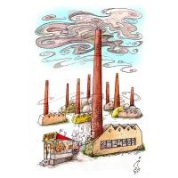 Jordan Pop-Iliev: Továreň