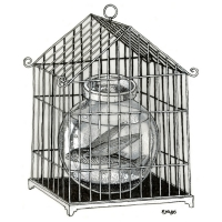 robert-rousso-flying-fish-cage