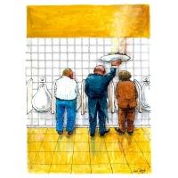 Luc Vernimmen - Čašník na WC