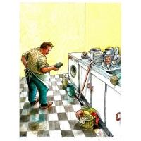 Luc Vernimmen - Muž v domácnosti
